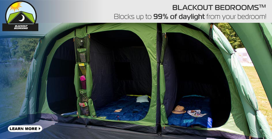 Blackout Bedrooms tents