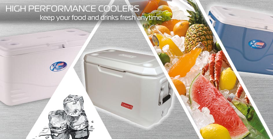 High performance coolers