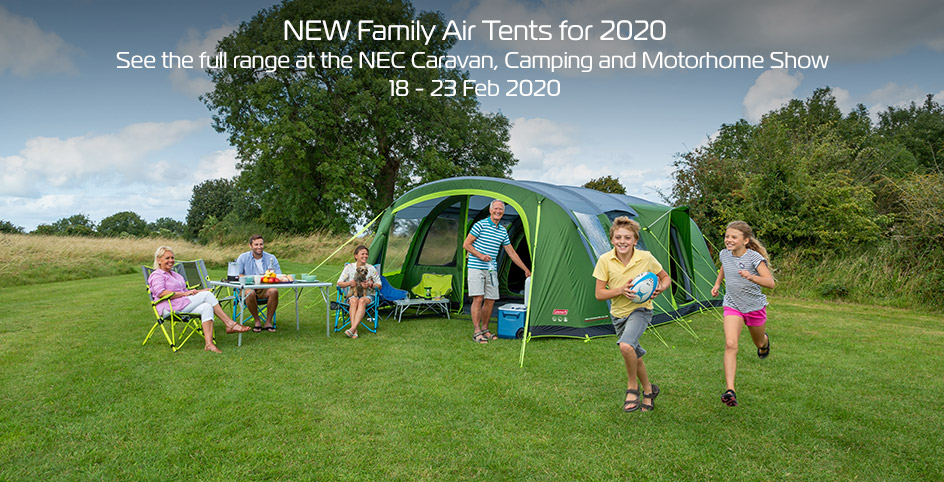 NEW Family Air Tents for 2020