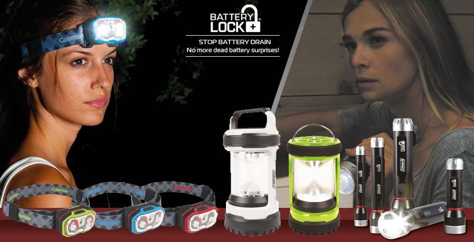 Coleman BatteryLock Head Torch