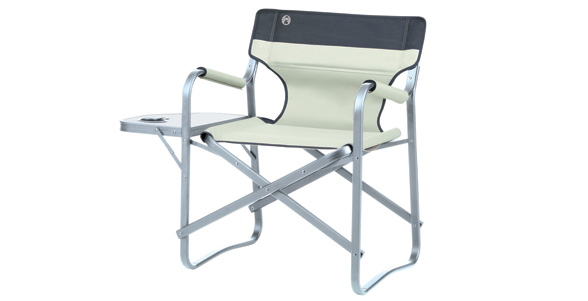 Deck Chair With Table (Khaki)