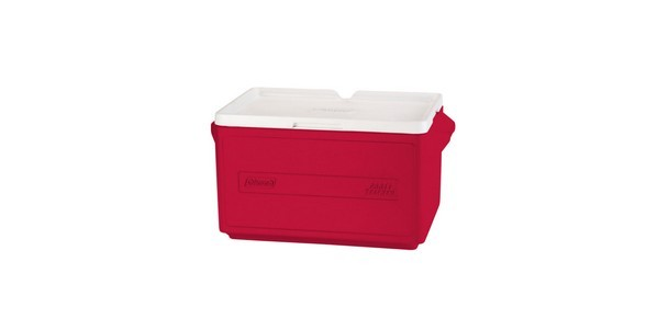25 Quart Stacker Cooler (Red)