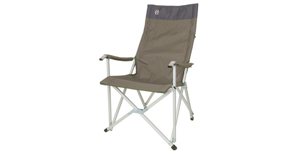 Sling chair moss green