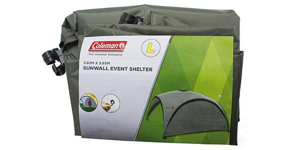Event Shelter Sunwall