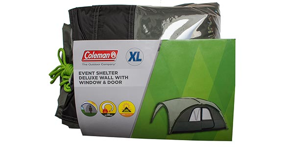 Event Shelter Deluxe Wall with Window & Door