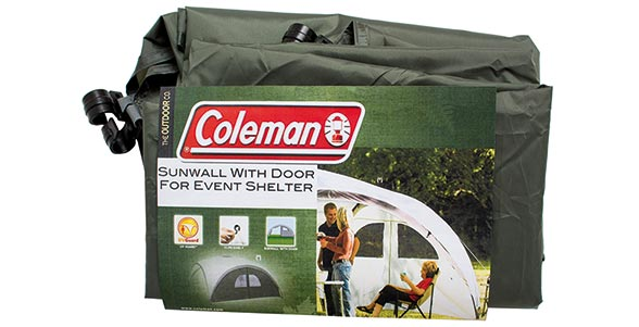 Event Shelter Sunwall with Door (3 x 3m)