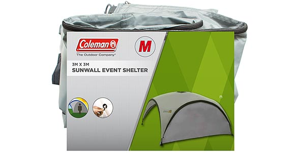 Event Shelter Pro M Sunwall (silver)