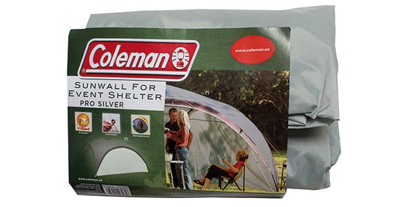 Event Shelter Pro L Sunwall (silver)