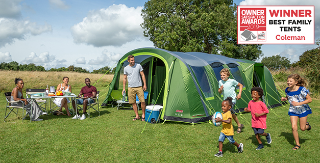 Our extensive range of family tents will provide your family with a comfortable home from home whilst spending time in the great outdoors. & Coleman - Family Tents 4-8 person