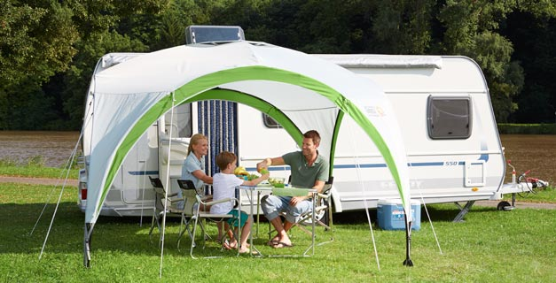 Extend your living space outdoors with a Coleman® Event Shelter. & Coleman - Event Shelter