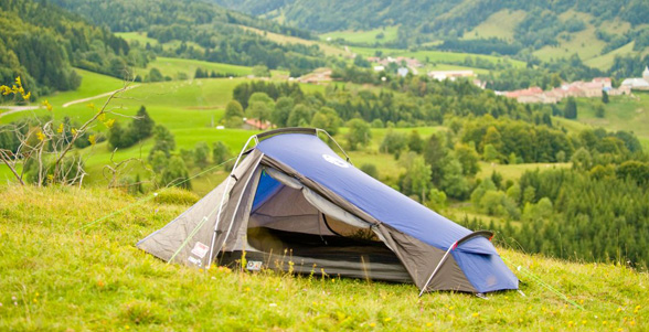 Cobra. A lightweight tent that offers superb value for a budding adventurist; the wedged tunnel design is wind responsive and strong. & Coleman - Cobra