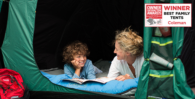 BlackOut Bedroom® Tents & Coleman - BlackOut Bedroom® Tents